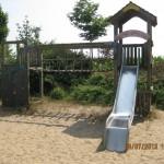 Spielplatz, Schirmkiefer