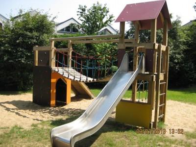 Spielplatz Stelle, Elbblick